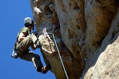 Rock Climbing Photo: More on staying power.