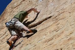 Rock Climbing Photo: Another one of Heavy Weather.
