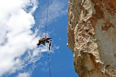 Rock Climbing Photo: Get down from there!  May 2013 Photo by Duc