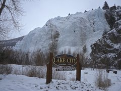 Rock Climbing Photo: Lake City Ice Park.