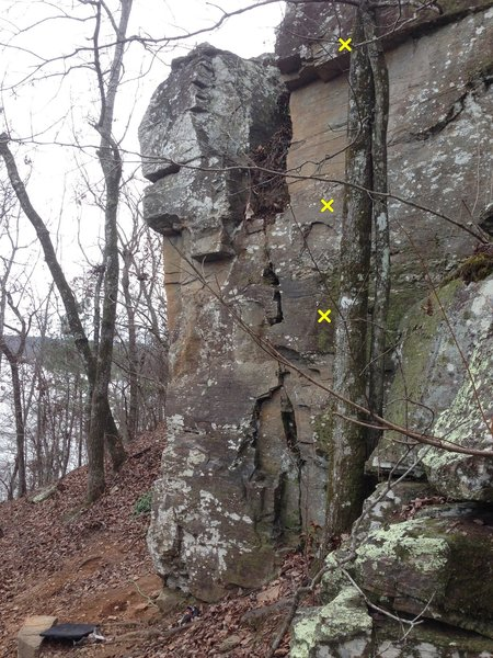 Rock Climbing Photo: Mud Puppy 5.9