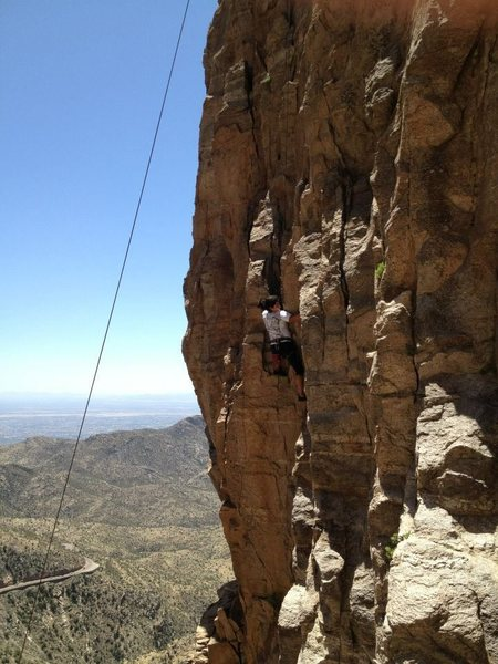 Rock Climbing Photo: Windy Point East Agatha Christie
