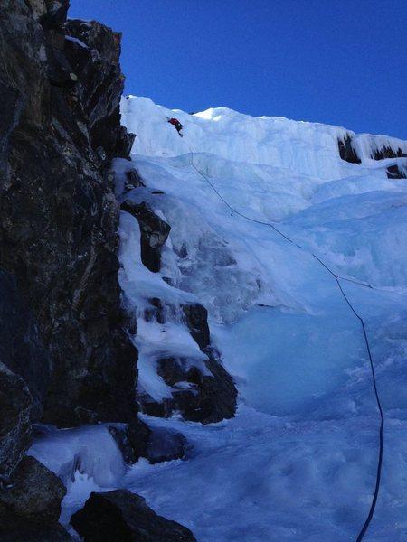 Rock Climbing Photo: Last pitch!