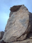 Rock Climbing Photo: Pasta Pinnacle, approached from the lower Spaghett...