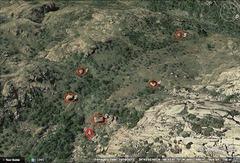 Rock Climbing Photo: Photo of the wapiti bouldering area below elk slab...