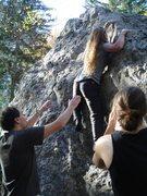 Rock Climbing Photo: Bouldering in Vercors