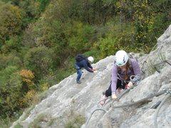 Rock Climbing Photo: Via Ferrata at Saint-Hilaire du Touvet