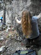 Bouldering in Vercors