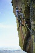 Rock Climbing Photo: Kent McClannan on Dream Street Rose, P2.