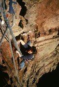 Rock Climbing Photo: Fran Bagenal, Upper Ruper.