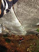 Rock Climbing Photo: ** Octopus' Garden in the Shade