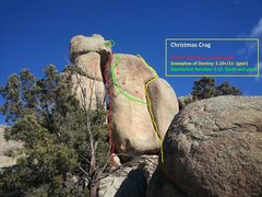 Rock Climbing Photo: The routes!
