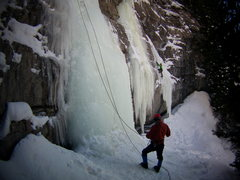 Rock Climbing Photo: Firehouse area - Vail, CO with Mike W.  January 20...