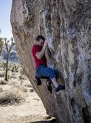 Rock Climbing Photo: Fry Problem, super fun moves and comfy holds.  Pho...