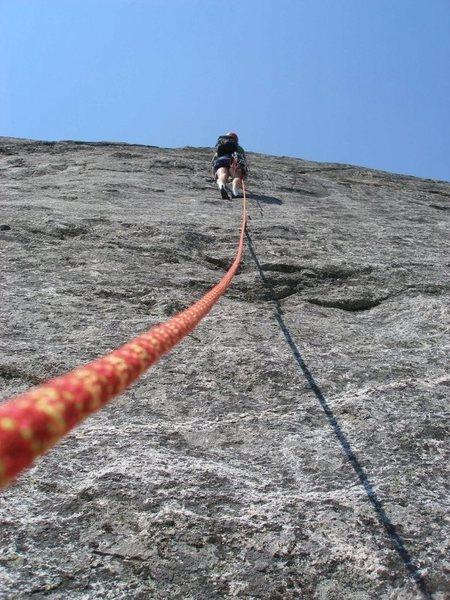 "Rock Climbing Photo: ""Five Swords""; 5.11bR"""