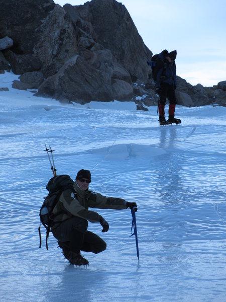 The tarn at the bottom of Andrews Glacier RMNP.