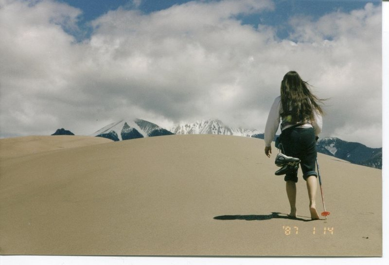 Rock Climbing Photo: Great Sand Dunes.