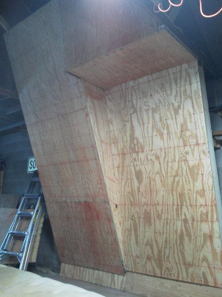 fresh plywood