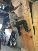 Rock Climbing Photo: climbing when I should be working