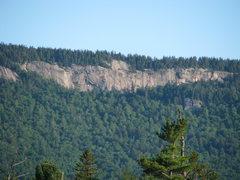 Rock Climbing Photo: The Main Wall of Greens