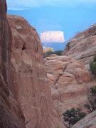 Rock Climbing Photo: Arches NP Sunset Landscape, 2013 J Herrington