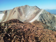 Rock Climbing Photo: From Peak 13,410 (S3) looking back south towards T...