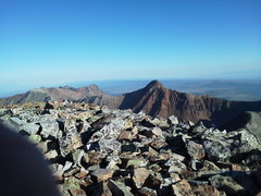 Rock Climbing Photo: From T.O looking northwest towards the end of the ...
