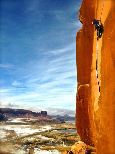 Rock Climbing Photo: The classic shot! One of my favorites- ANYWHERE!