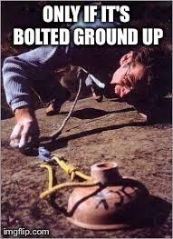 Rock Climbing Photo: Ground up ethics