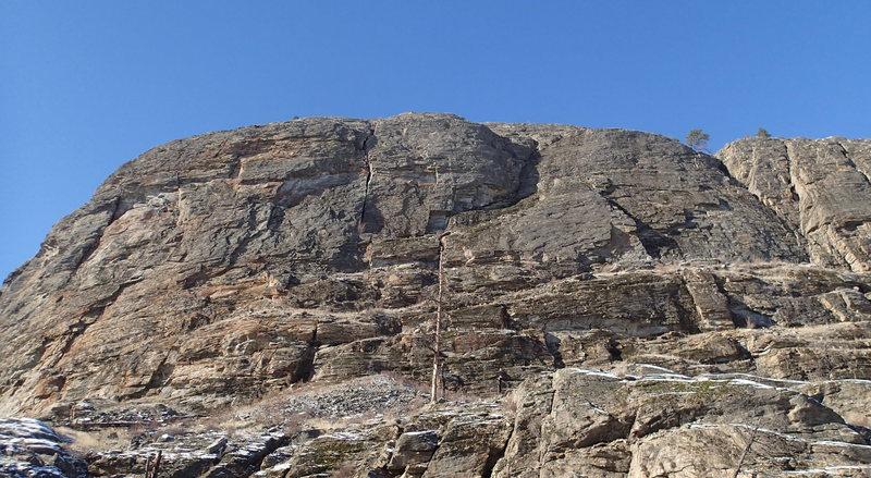 Rock Climbing Photo: Main Canyon - Far Wall
