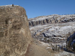Rock Climbing Photo: SE Buttress - end of January climbing conditions. ...