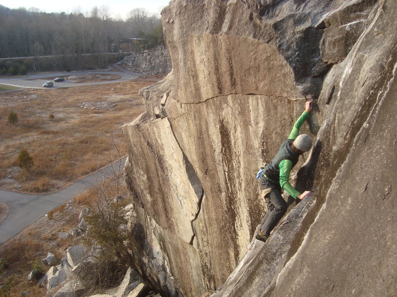Rock Climbing Photo: Safety Ledge