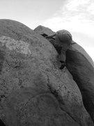 Rock Climbing Photo: East crack, Melrose.