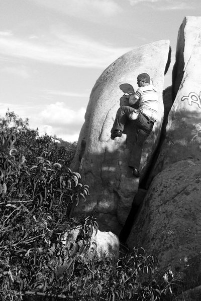 Rock Climbing Photo: Great Arête!