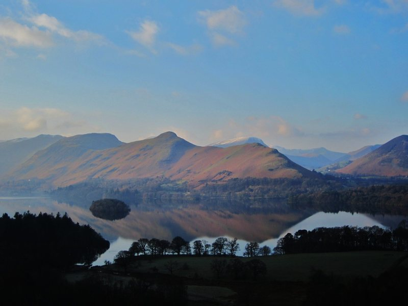 Catbells and Robinson . Lake District Jan 30th 2014
