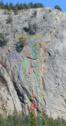 Rock Climbing Photo: F.Y. Wall.