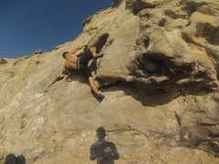 Rock Climbing Photo: Beach bouldering at Pirates Cove