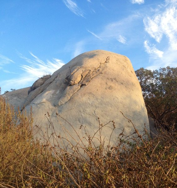 Rock Climbing Photo: Two of the better routes at Melrose climb this fac...
