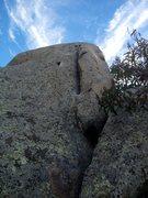 Rock Climbing Photo: Scorpion King as seen from the start.
