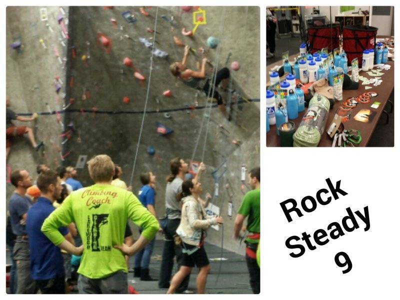 It is always a great time at Lakewood Link's Annual Rock Climbing Competition!