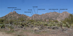 Rock Climbing Photo: South and Mid Mountain Areas visible from the park...