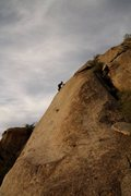Rock Climbing Photo: Me on Kate's Fault with Slideshow in the foregroun...