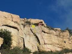 Rock Climbing Photo: Main Wall Icarus 5.11a