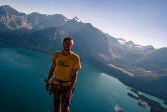 Rock Climbing Photo: Summit of Joy (III 5.8R) in Kananaskis, Alberta, C...