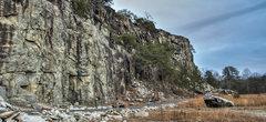 Rock Climbing Photo: Lower Tier Quarry Wall