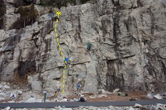 Rock Climbing Photo: Flight Topo
