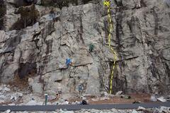 Rock Climbing Photo: Double Roof Ballet Topo