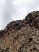Rock Climbing Photo: Las Conchas, Jemez Mountains, NM 2013