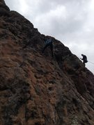 Rock Climbing Photo: Las Conchas, Jemez Mountains, NM