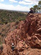 Rock Climbing Photo: John and Aimee, Santa Fe